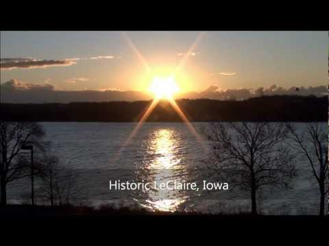 "Historic LeClaire, IA - Home of ""American Pickers"""