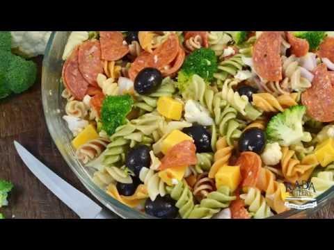 Italian Pasta Salad Recipe - Easy Pantry Salad | RadaCutlery.com