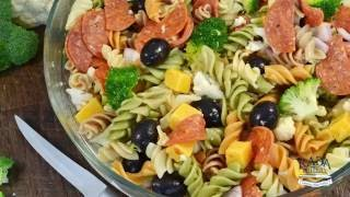 Italian Pasta Salad Recipe - Easy Pantry Salad