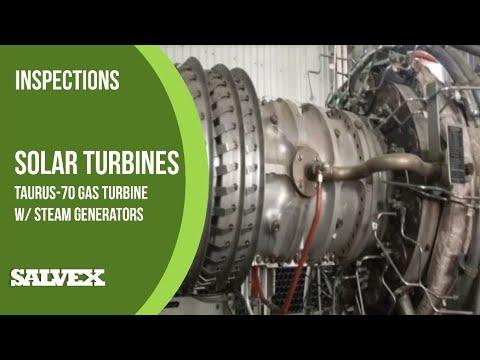 Current Sale - Solar Turbines Taurus-70 Gas Turbine with Steam Generators