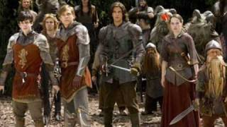 Prince caspian soundtrack - battle at Aslan