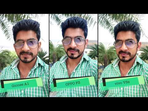 Thumbnail: vivo V5s, OPPO F3, Gionee A1: Selfie comparison [Hindi - हिन्दी]