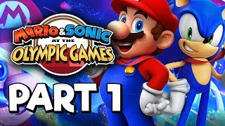 Mario & Sonic at the Olympic Games Tokyo 2020 Story mode Part 1 Gameplay Walkthrough