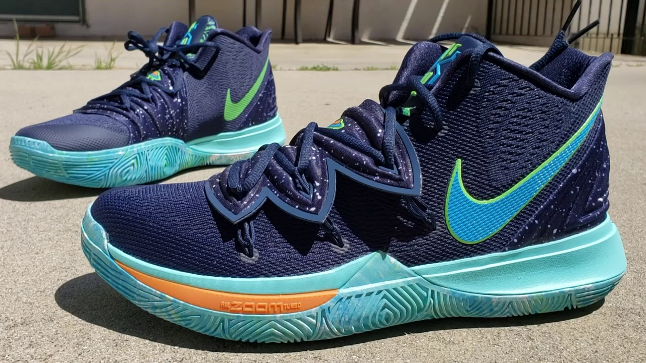 7d6028a0855 KYRIE IRVING S NIKE KYRIE 5  UFO  DETAILED SNEAKER REVIEW + ON FEET ...