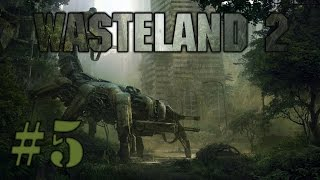 Let's Play Wasteland 2 (part 5 - Ag Center [blind])