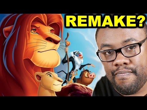 THE LION KING REMAKE ANNOUNCED - Disney & Jon Favreau