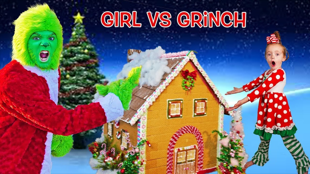 Download Girl vs Grinch! Can Cindy Lou Who Save Christmas Again?