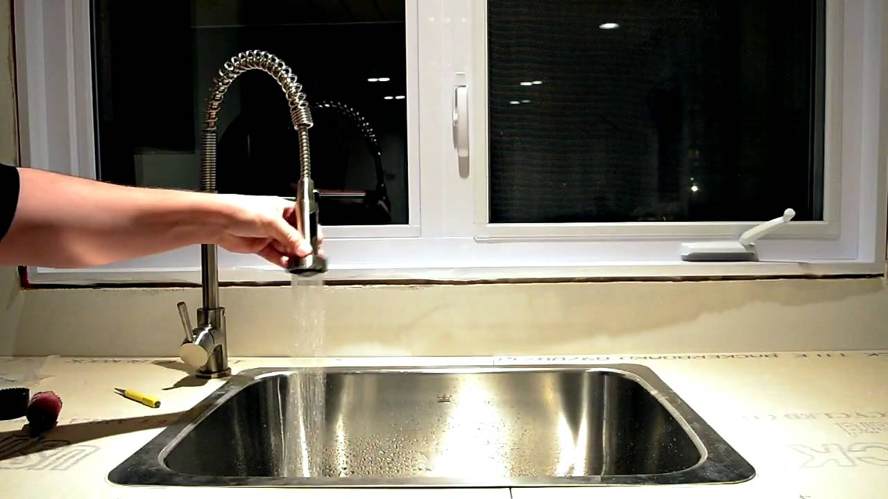 Fontaine Spring Faucet and Kindred Sink - YouTube