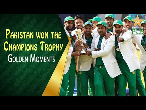 On This Day in 2017 - Pakistan won the Champions Trophy thumbnail