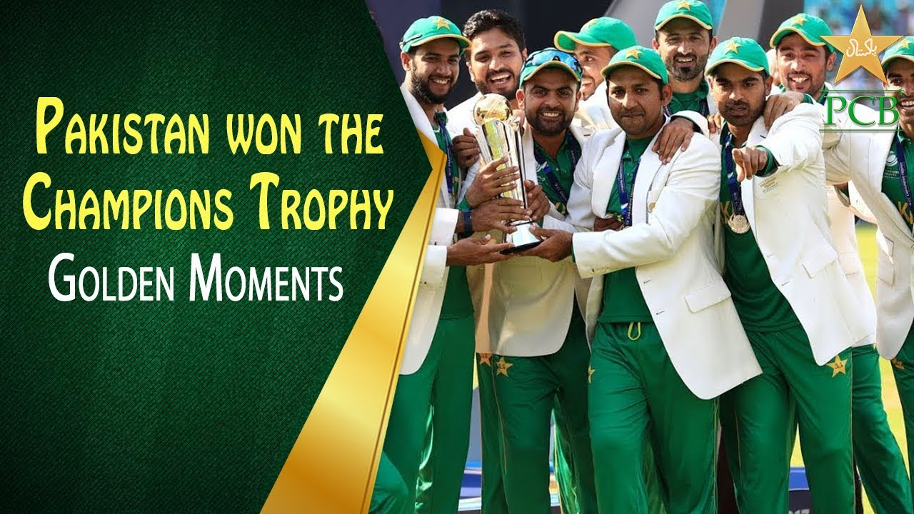 On This Day in 2017 - Pakistan won the Champions Trophy