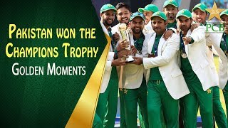 On This Day in 2017  Pakistan won the Champions Trophy