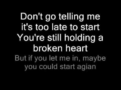 Start Agian- Sam Tsui w/ Lyrics