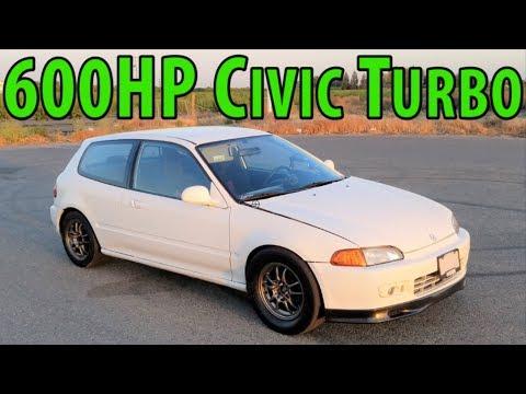 The Ultimate Street Civic - VTEC + Turbo + 9,000rpm