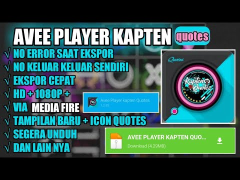 avee-player-kapten-quotes-mod-full-template-quotes
