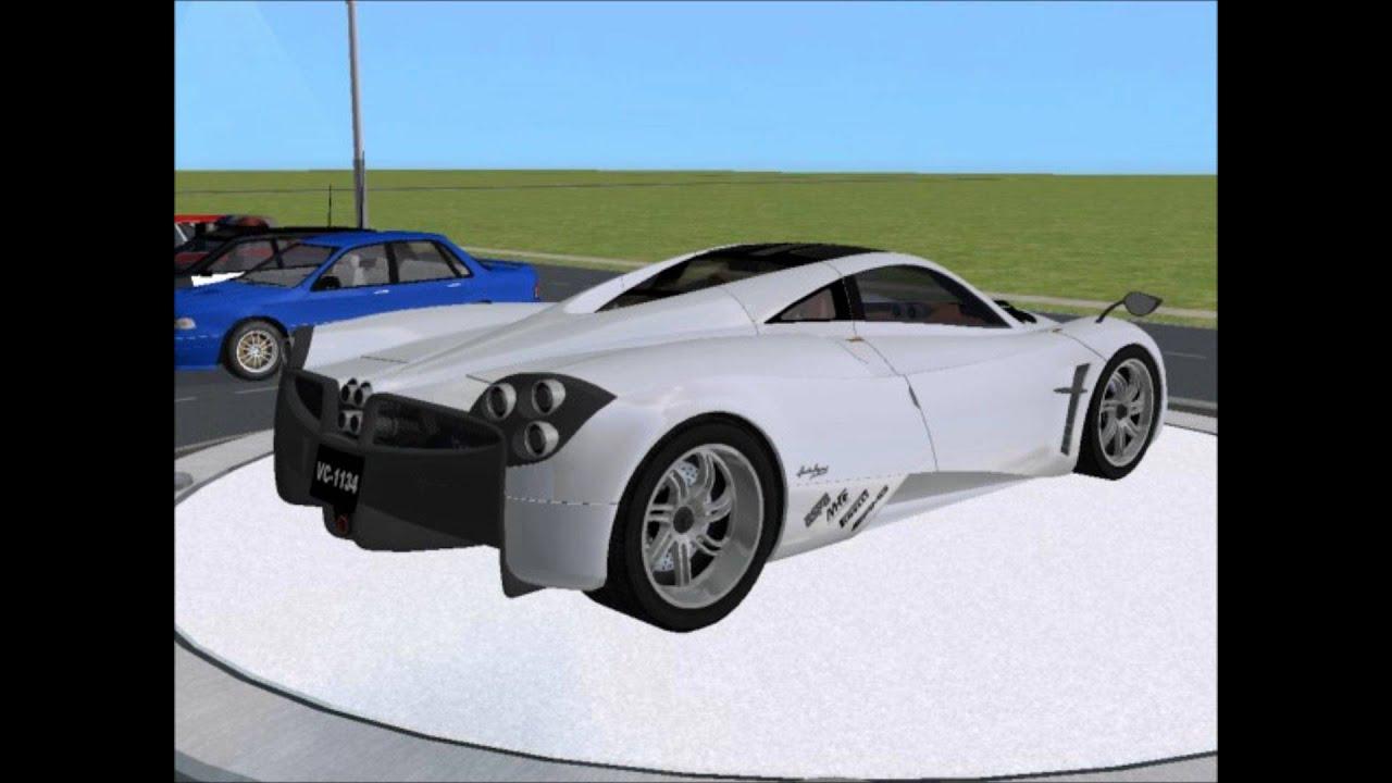 Sims 2 car conversion by vovillia corp 2012 pagani huayra youtube sims 2 car conversion by vovillia corp 2012 pagani huayra vanachro Image collections