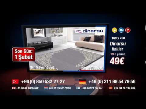 Dinarsu Halı Florida Serisi 160 x220 Ölçüsü € 49,90