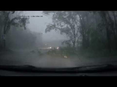 Ураган в Кирово-Чепецке 18.07.2017