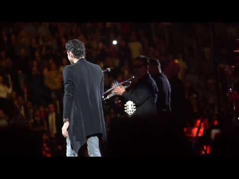 "Marc Anthony, ""Te Conozco Bien,"" 2-11-17, Prudential Center"