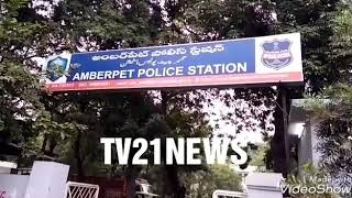 Girl Student Suicide in Amber pet Police  Limits...