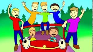 Детский клип про машинку тачки
