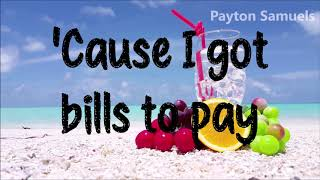 Sigala, Ella Eyre, & Meghan Trainor Ft. French Montana - Just Got Paid (Lyrics) Video