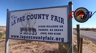 La Paz County Fairgrounds   Aerial Footage - Parker Arizona