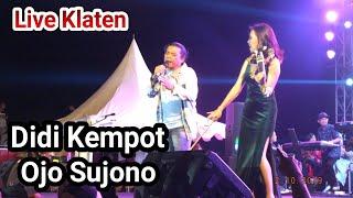 Didi Kempot - Ojo Sujono , Live Klaten 2019
