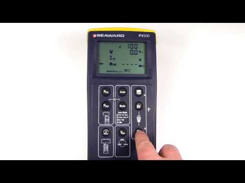 How to recall data from the PV200 or 210