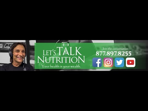 Let's Talk Nutrition Live- The mind and body connection