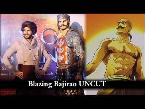UNCUT - Blazing Bajirao - Graphical Web Series Launch   Ranveer Singh   Eros Now