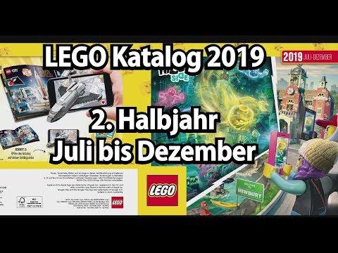 Neuer LEGO Katalog 2019 2. Halbjahr (deutsch) Kommentiert