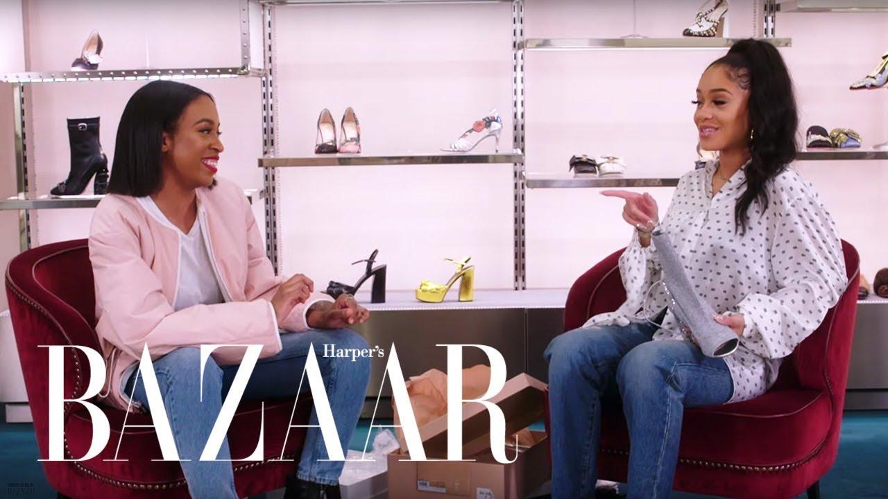 ICY GRL Saweetie Shops for the Perfect Pair of Heels | Heel Hunters | Harper's BAZAAR