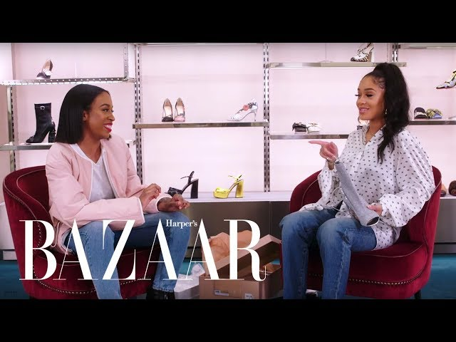 Saweetie Shops for the Perfect Pair of Heels | Heel Hunters | Harpers BAZAAR