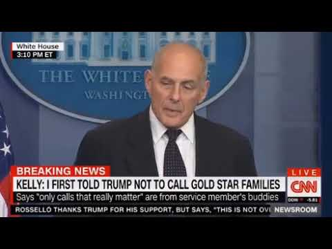 Kelly defends Trump's call to soldier's widow, lashes congre