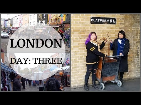 LONDON | Camden Market & King's Cross!