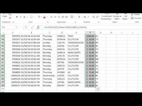 Excel: Data Cleaning with Excel Part 2