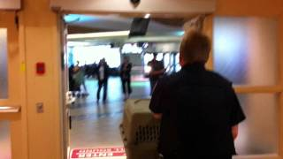 Arrival at the Edmonton International Airport - Last Chance Rescue