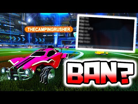 YOUTUBER SWEARS AND GETS BANNED!? ( Rocket League )
