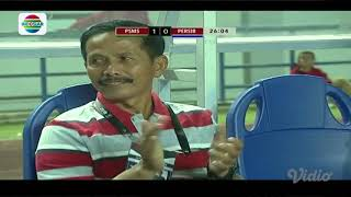 PSMS Medan 2 - 0 Persib Bandung