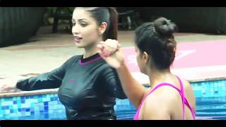 This is what yami looks like: Yami Gautam swimming in hot Yoga Pants