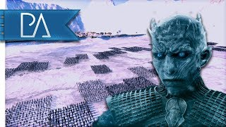SIEGE BEYOND THE WALL: NIGHT KING ATTACKS! - Game of Thrones - Seven Kingdoms Total War Mod Gameplay