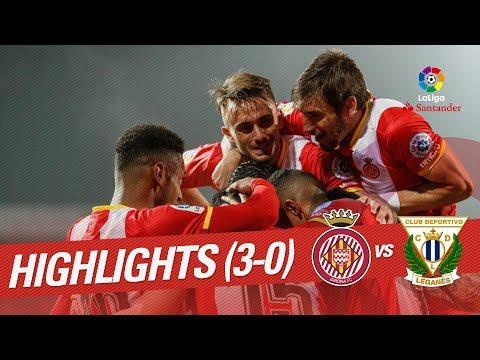 Resumen de Girona FC vs CD Leganés (3-0)