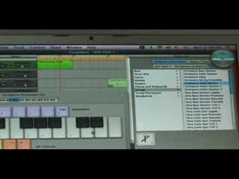 GarageBand Plugin Tips : GarageBand Orchestral Jam Pack Tips