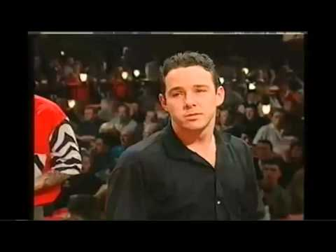Peter Wright BEFORE The Fancy Dress