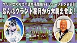 11/29~12/13開催!クリスマス特別夜公演「プリンセス天功×辻本茂雄~TENKOニ