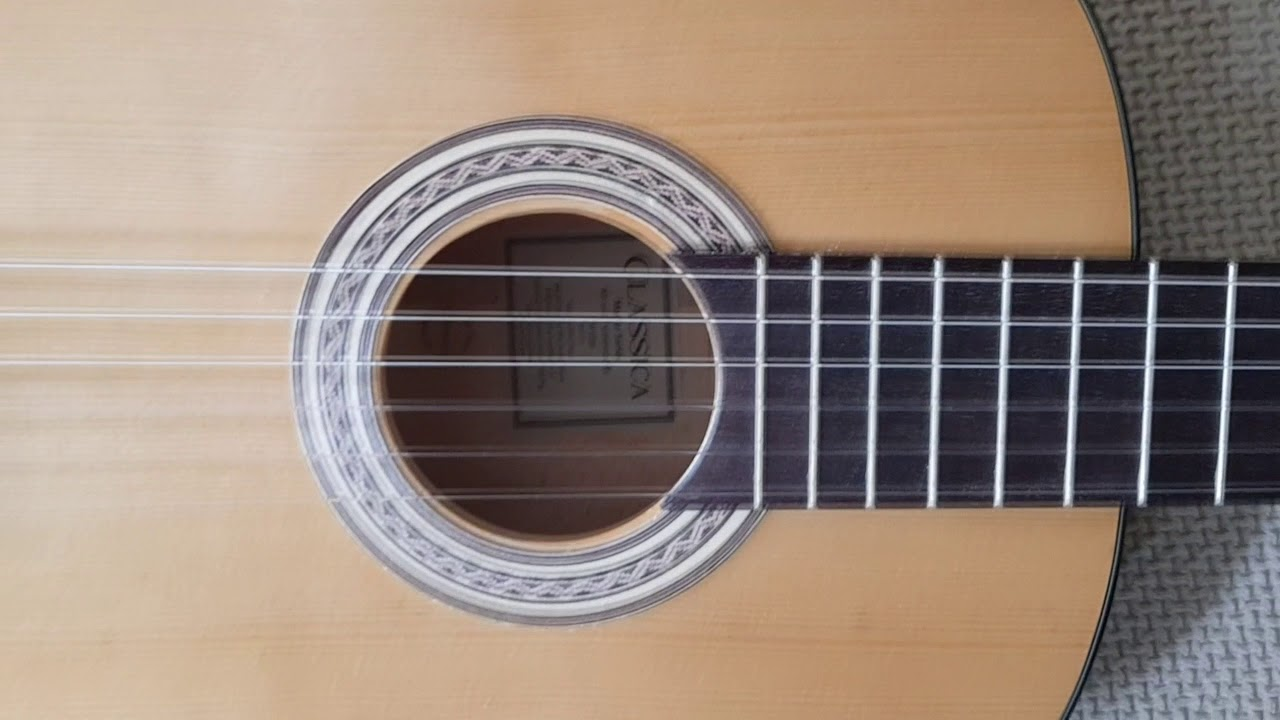 Thomann Classic Guitar S 4/4 (upgraded) close look+test