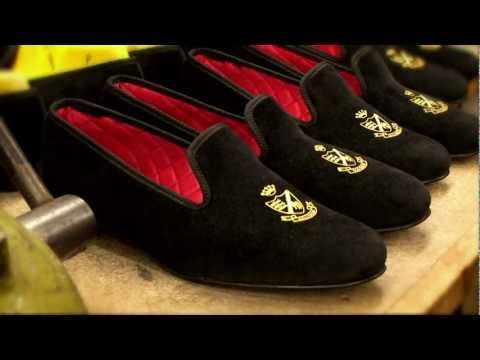 Herring Shoes - Monarch Velvet Slipper