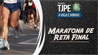 Maratona de Reta Final TJPE | Noções de Direito Civil e Processo Civil