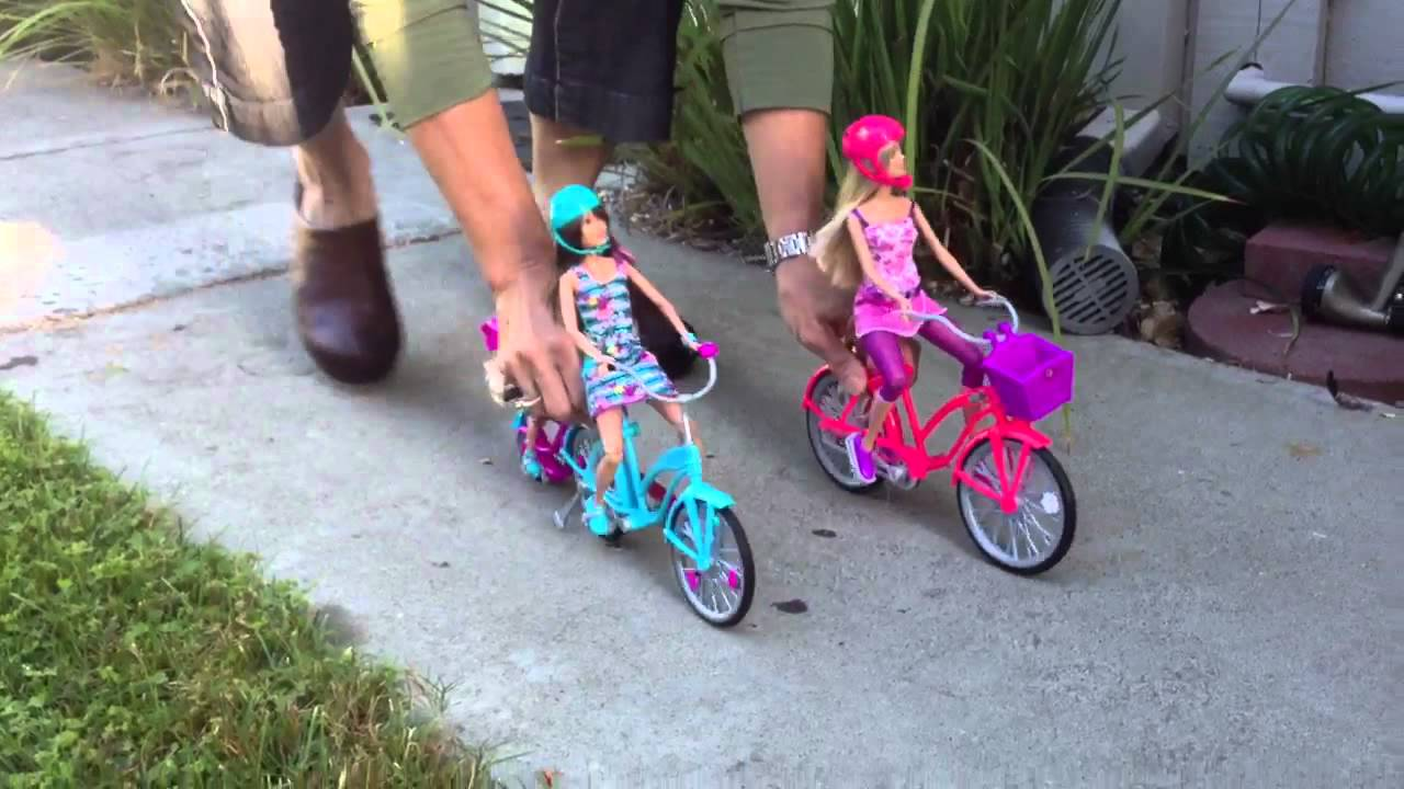 Barbie Rides A Bike Youtube Boneka Hello Kitty Wedding14ampquotn