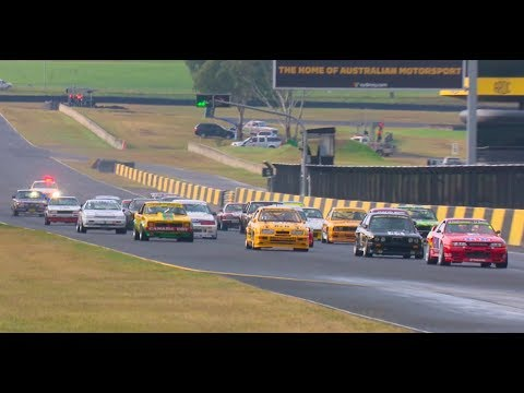 Touring Cars Group A & C Heritage Sydney Classic Speed Festival 2017 Race 2